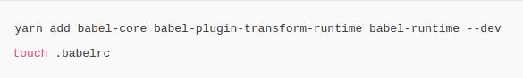 dev- dependencies.
