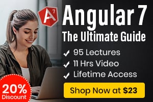 Angular 7 : The Ultimate Guide