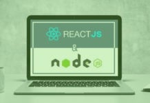 react js + nodejs