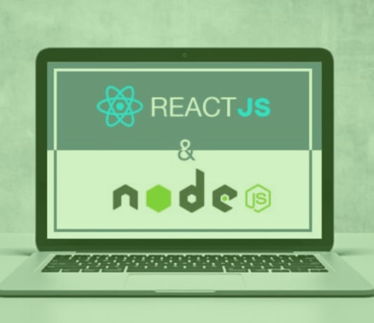 ReactJS + nodejs