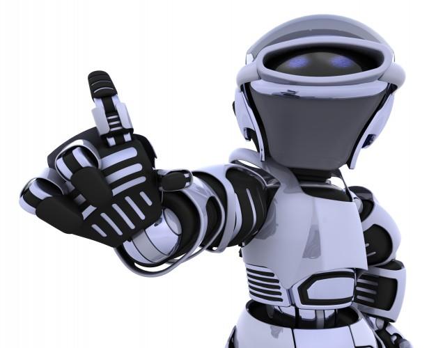robot-presenting