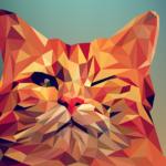Graphic cat