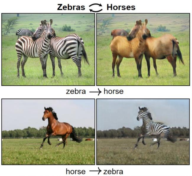 Animal Swaps Using AI
