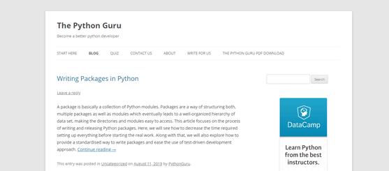 The Python Guru