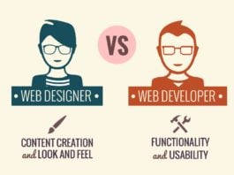 difference between Designer and Developer