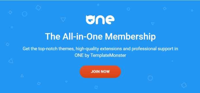 ONE by TemplateMonster