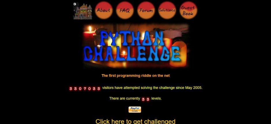 Python Challenge