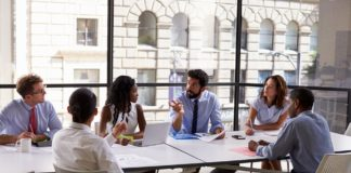 employee, meeting, corporate, business, discussion