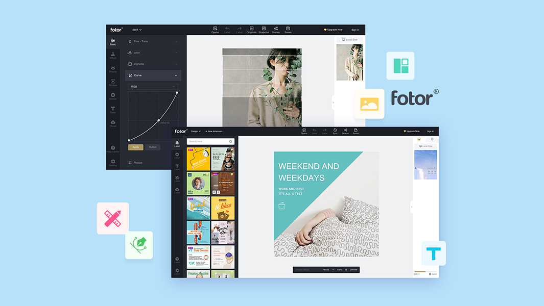 30. Fotor Online Photo Editor