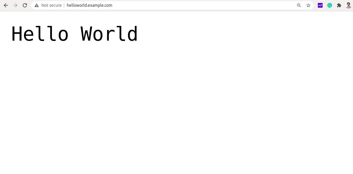 node.js application, linux server