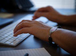 Keylogging software, typing, keyboard